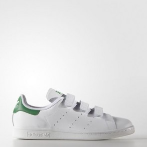 Zapatillas Adidas unisex stan smith footwear blanco/verde S75187-027