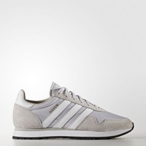 Zapatillas Adidas unisex haven lgh solid gris/footwear blanco/clear granite BB2738-036
