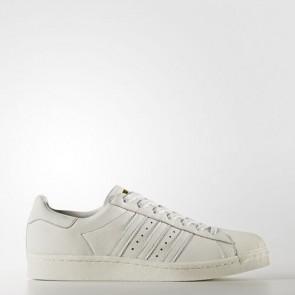 Zapatillas Adidas unisex super star boost vintage blanco/gold metallic BB0187-045
