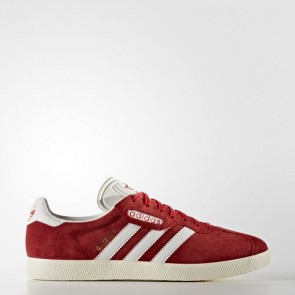 Zapatillas Adidas unisex gazelle rojo/vintage blanco/gold metallic BB5242-046