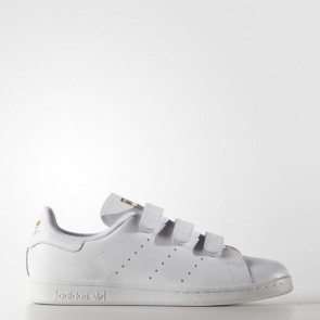 Zapatillas Adidas unisex stan smith footwear blanco/gold metallic S75188-050