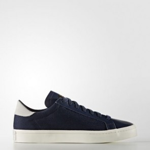 Zapatillas Adidas unisex court vantage collegiate navy/footwear blanco S76197-076