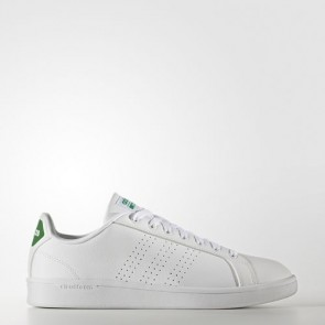 Zapatillas Adidas unisex cloudfoam advantage footwear blanco/verde AW3914-080