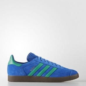 Zapatillas Adidas unisex gazelle azul/core verde/gum BB2755-084