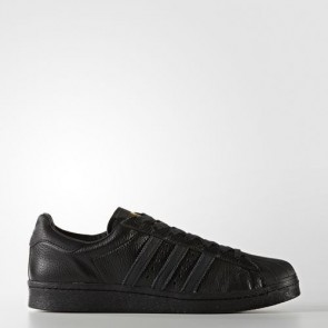 Zapatillas Adidas unisex super star boost core negro/gold metallic BB0186-088