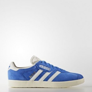 Zapatillas Adidas unisex gazelle azul/vintage blanco/gold metallic BB5241-099