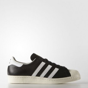 Zapatillas Adidas unisex super star 80s core negro/blanco/chalk blanco G61069-101