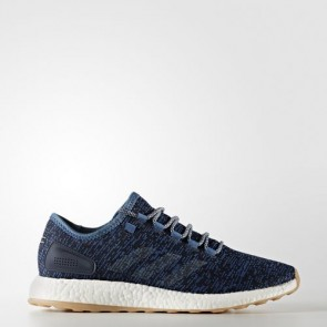 Zapatillas Adidas unisex pure boost core azul/linen/night navy BA8896-116