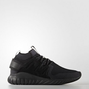 Zapatillas Adidas unisex tubular nova primeknit core negro/night gris S80109-123