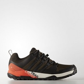 Zapatillas Adidas unisex terrex trail umber/core negro/energy BB0714-126