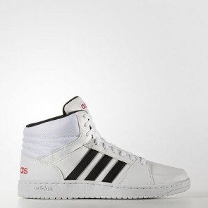 Zapatillas Adidas unisex vs hoops mid footwear blanco/core negro/scarlet B74501-129