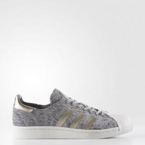 Zapatillas Adidas unisex primeknit superstar lgh solid gris/mgh solid gris/ch solid gris BB8973-130