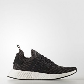 Zapatillas Adidas unisex nmd_r2 utility negro/core negro/footwear blanco BA7239-142