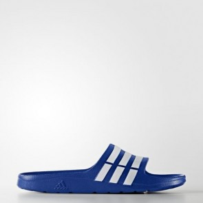 Zapatillas Adidas unisex chancla duramo power azul/blanco G14309-149