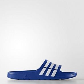 Zapatillas Adidas unisex chancla duramo power azul/blanco G14309-149