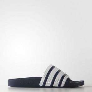 Zapatillas Adidas unisex chancla lette adiazul/blanco G16220-152