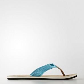 Zapatillas Adidas unisex chancla hawaiana eezay non dyed/chalk blanco/lab verde BA8825-153