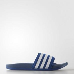 Zapatillas Adidas unisex chancla lette supercloud plus eqt azul/footwear blanco AQ4936-157
