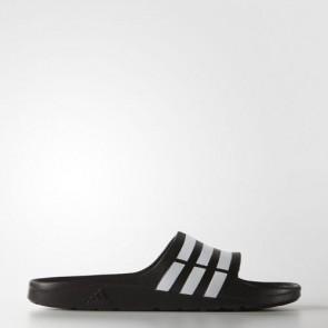 Zapatillas Adidas unisex chancla duramo core negro/blanco G15890-159