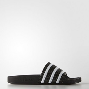 Zapatillas Adidas unisex chanclas lette core negro/blanco 280647-160