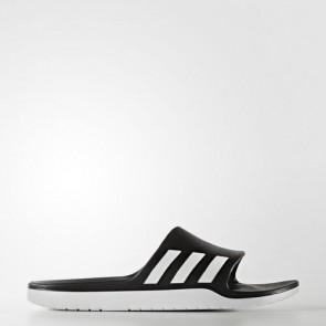 Zapatillas Adidas unisex chancla aqualette core negro/footwear blanco AQ2166-161