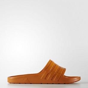 Zapatillas Adidas unisex chancla duramo tactile naranja BA8790-162