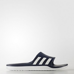 Zapatillas Adidas unisex chancla aqualette collegiate navy/footwear blanco AQ2163-163