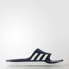 Zapatillas Adidas unisex chancla aqualette collegiate navy/footwear blanco AQ2163-163