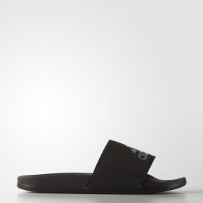 Zapatillas Adidas unisex chancla lette cloudfoam plus core negro/silver metallic S79352-164