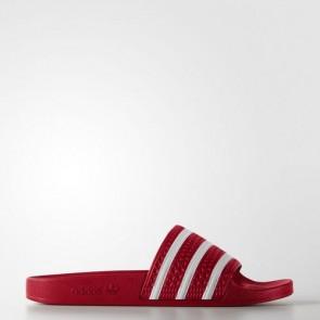 Zapatillas Adidas unisex chancla lette scarlet/blanco 288193-168