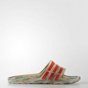Zapatillas Adidas unisex chancla duramo linen khaki/energy/trace cargo BA8787-173