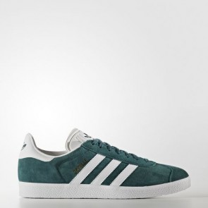 Zapatillas Adidas unisex gazelle mystery verde/footwear blanco/gold metallic BB5253-175