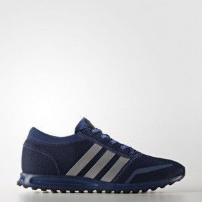 Zapatillas Adidas unisex los angeles mystery azul/silver metallic/core negro BB1128-176