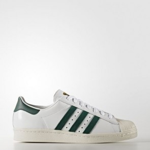 Zapatillas Adidas unisex super star 80s footwear blanco/collegiate verde/gold metallic BB2230-180