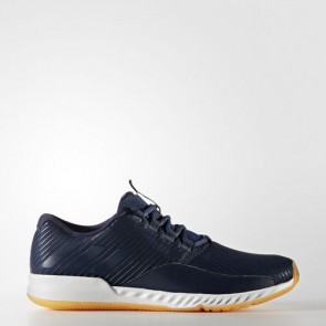 Zapatillas Adidas para hombre crazy bounce chill collegiate navy/solar gold BA8969-168