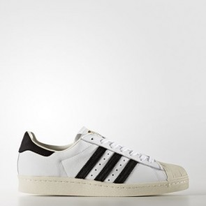 Zapatillas Adidas unisex super star 80s footwear blanco/core negro/gold metallic BB2231-185