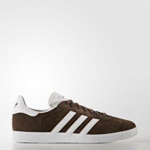 Zapatillas Adidas unisex gazelle marrón/footwear blanco/gold metallic BB5254-186