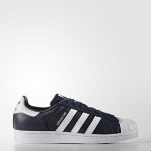 Zapatillas Adidas unisex super star foundation collegiate navy/footwear blanco BB2239-190
