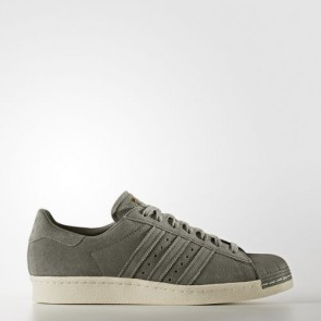 Zapatillas Adidas unisex super star 80s trace cargo/gold metallic BB2226-193
