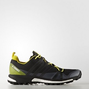 Zapatillas Adidas para hombre terrex agravic core negro/bright amarillo BB0961-169