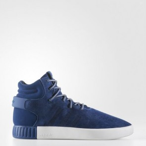 Zapatillas Adidas unisex tubular invader mystery azul/legend ink/vintage blanco BB8385-198