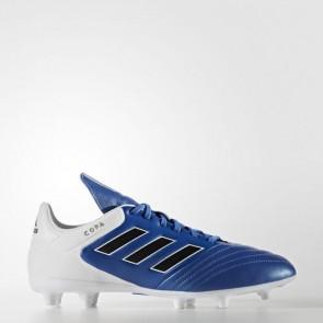 Zapatillas Adidas unisex copa 17.3 césped natural azul/core negro/footwear blanco BA9717-201