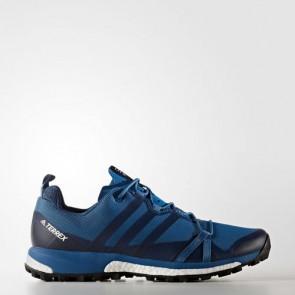 Zapatillas Adidas para hombre terrex agravic core azul/core negro/footwear blanco BB6002-170