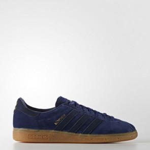 Zapatillas Adidas para hombre nchen dark azul/collegiate navy/gum BB5294-173