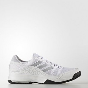 Zapatillas Adidas para hombre barrica court footwear blanco/clear onix/core negro BB3325-181