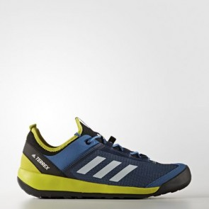 Zapatillas Adidas para hombre terrex swift core azul/chalk blanco/unity lime BB1993-190