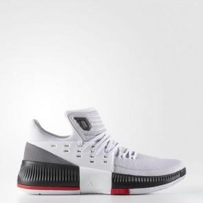 Zapatillas Adidas para hombre dame 3 footwear blanco/core negro/scarlet BB8268-195