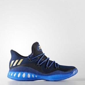 Zapatillas Adidas para hombre crazy explosive low collegiate navy/matte gold/azul BW0571-205