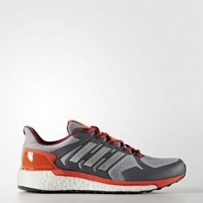 Zapatillas Adidas para hombre super nova mid gris/silver metallic/energy BB0992-232