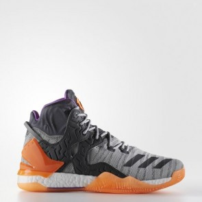 Zapatillas Adidas para hombre d rose 7 primeknit shock violeta/glow naranja/gris oscuro BB8193-238